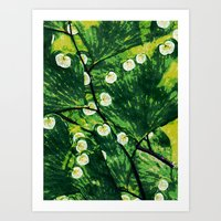 Tree With the Lights Art Print