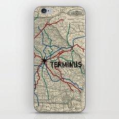 Terminus Map iPhone & iPod Skin