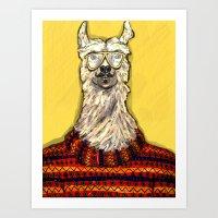 Como Te Llamas Art Print