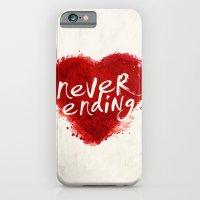 never ending love iPhone 6 Slim Case