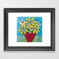 Good Day Sunshine Framed Art Print
