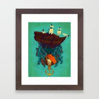 The Bride Of Neptune Framed Art Print
