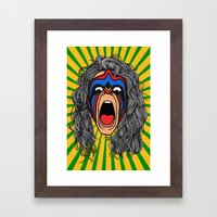 Inner Warrior Framed Art Print
