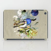 Yellow Birds iPad Case