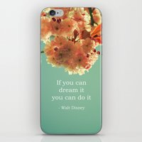 If You Can Dream It iPhone & iPod Skin