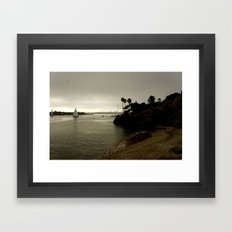 Sail On Framed Art Print