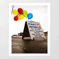 Party World Art Print