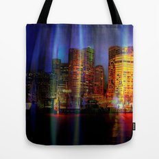 Behind the curtain 3 (Sydney) Tote Bag