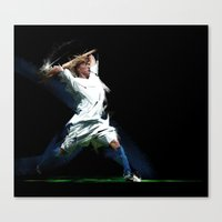Let's Play Soccer Canvas Print