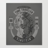 World's First Time Trave… Canvas Print