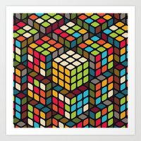 The solved one Art Print
