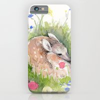 iPhone & iPod Case featuring Little Fawn by Julia Marshall