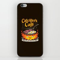 Calcifer's Cafe iPhone & iPod Skin