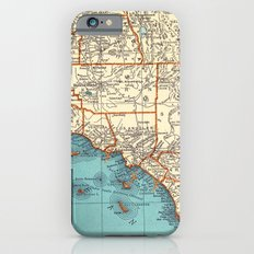 So Cal Surf Map Slim Case iPhone 6s