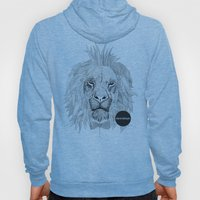 Asleep lion Hoody