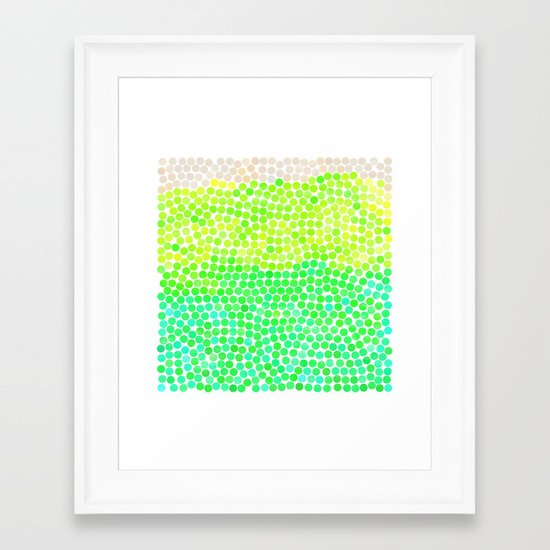 dance 7 Framed Art Print