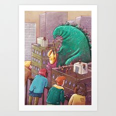 Giant of February Art Print