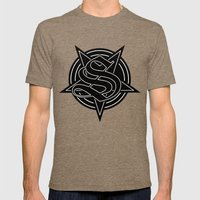 Sinister Star Mens Fitted Tee Tri-Coffee SMALL