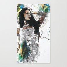 Wonder Abstract Portrait Canvas Print