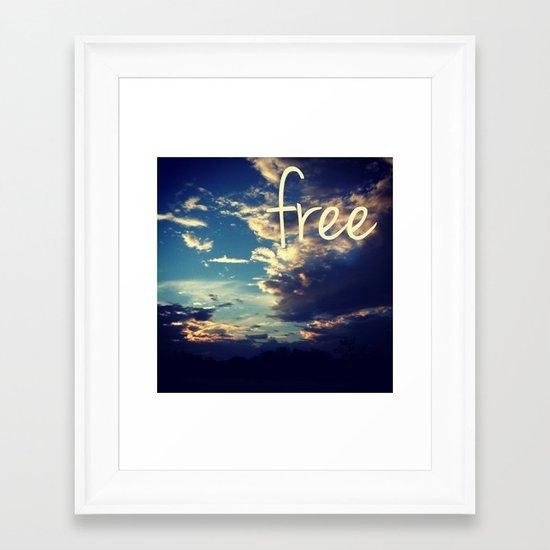 free III Framed Art Print