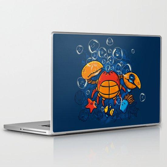 Jellyfishes Birth Laptop & iPad Skin