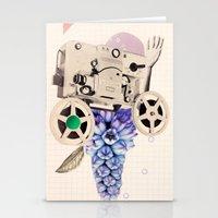 hazy pellicle Stationery Cards