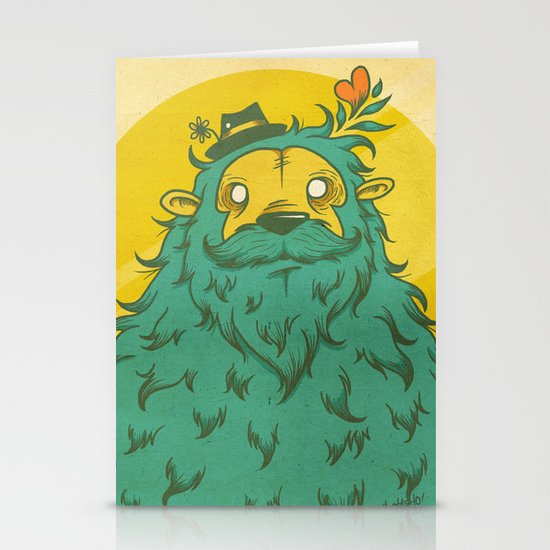 Monster Love! Stationery Card