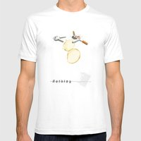 Nothing (...) | Collage Mens Fitted Tee White SMALL