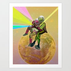 For a Handful of Stars / Universo Carnaval Art Print