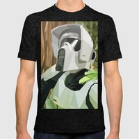 Scout Trooper Mens Fitted Tee Tri-Black SMALL