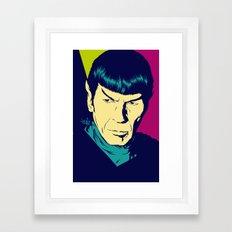 Spock Logic Framed Art Print