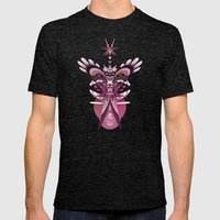 Little Angel Mens Fitted Tee Tri-Black SMALL