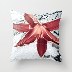Lone Lilly Throw Pillow