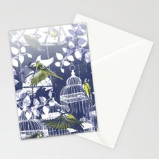 Green Finch Green House Stationery Cards