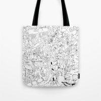 Fragments of memory Tote Bag