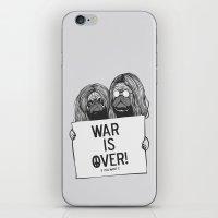 War Is Over Pugs iPhone & iPod Skin