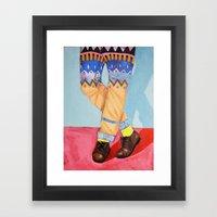 Summer hues Framed Art Print