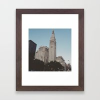 Flatiron Framed Art Print