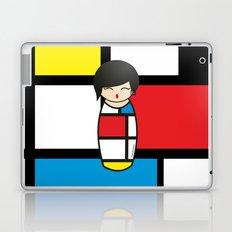 Kokeshi Mondrian Laptop & iPad Skin
