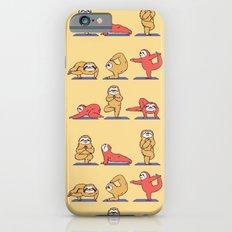 Sloth Yoga iPhone 6 Slim Case