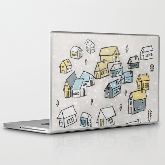 First day of snow Laptop & iPad Skin