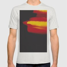 LightLeak Mens Fitted Tee Silver SMALL