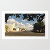 Marfa, Texas Art Print