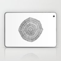 Vacancy Zine Mandala I B… Laptop & iPad Skin