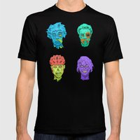 Zombie Quartet Mens Fitted Tee Black SMALL