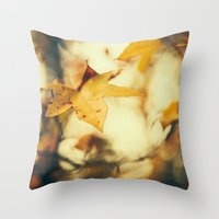 Louisiana Fall Throw Pillow