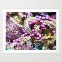 For the Love of BLING! Art Print
