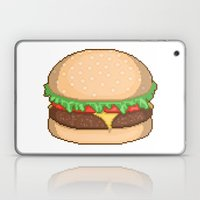 Cheeseburger Pixel Laptop & iPad Skin