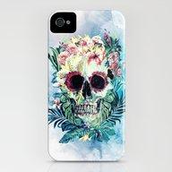 SKULL FLORAL iPhone (4, 4s) Slim Case