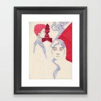 The Domino Effect Framed Art Print